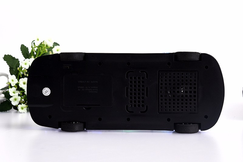 Xmas Gift Bluetooth Mini Speaker 550BT Car Model Stereo Hifi Sound Box Wireless Portable Loudspeaker TF USB MP3 Music Player FM