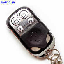 Universal Garage Door Opener Remote Control 4 Channel 433Mhz Auto Gate Copy 2260 2262 PT2264 for Car Key Fob Duplicator Metal(China)
