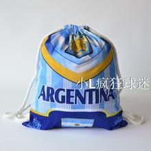 sports outdoor polyester Argentina soccer bag Portable football fan football boots shoes bag Fans souvenirs storage bag gift