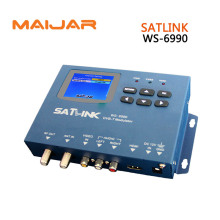Original Satlink Meter WS-6990 1 Route DVB-T modulator/ AV/ HDMI Satellite Finder Meter ws6990