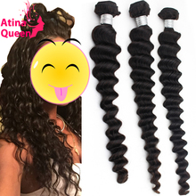 Raw Unprocessed Indian Virgin Hair Loose Deep Wave Indian Remy Curly Hair Extension Human Hair Weave Bundles Natural Color Weft