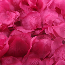 1000pcs Party Rose petal wedding decoration flores artificiales decorative artificial flowers U6629 DROP SHIP flores artificiais