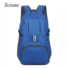 2017 Fashion Brand Men Male Nylon Backpack Women Waterproof Folding Backpacks Laptop Travel Bags Notebook mochila feminina Li409