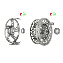 Top Quality Aluminum Fly Fishing Wheel CNC Machine Large Arbor Die Metal Carp Spinning Fishing Reel Bait Casting Right Tackle
