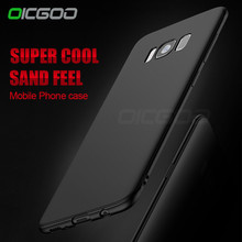 Ultra Thin Matte Soft Silicon TPU Cover Case for Samsung Galaxy S8 Plus S7 Edge S6 S5 J1 J3 J5 J7 A3 A5 A7 2015 2016 2017 Cases(China)