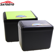 ZATOOTO Cargo Trash Can Carbage Storage Box Black Container For Car Vehicle Environment Car Accessories Stowing Tidying