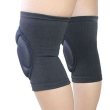 1 Pair Basketball Skating Shockproof Sponge Pad Knee Support Brace Guard Elbow & Knee Pads(China)