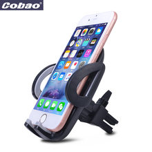 Car mobile phone holder 360 universal car air vent phone holder Universal car phone holder air vent cell phone car mount(China)