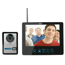 9 inch Wireless TFT Color Video Door Phone Intercom Doorbell IR Camera+Touch Monitor Speakerphone For Intercom Security 903FAW11