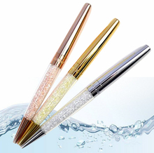 New swarovski Crystal Pen stardust pen Crystalline Lady diamond swarovski elements cyrstal Ballpoint Pen box case bag optional(China)