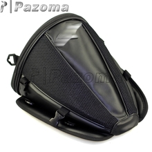 PAZOMA Free shipping Black seat rear storage motorcycle bag motorcycle accessories package Saddle bag