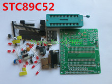 5set/lot 51 / AVR microcontroller development board learning board DIY Learning Kit Kit parts STC89C52 Minimum system board