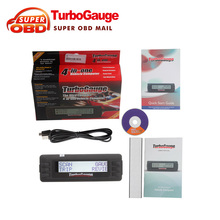 High Quality Turbogauge IV4-in-1 Vehicle Computer obd 2/EOBD car trip computer/Digital Gauges/scan gauge/car scan tool