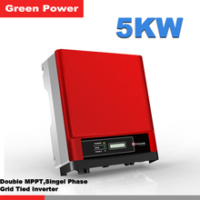 GW5000D-NS Goodwe inverter,5years warranty inverter with solar charger connected 250w 300w solar panel inverter to grid(China)