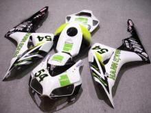 Motorcycle Fairing kit for HONDA CBR1000RR 06 07 CBR 1000RR 2006 2007 CBR1000 ABS white green black Fairings set+7gifts HG29