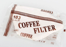 No.103 Coffee Filter Paper bags, for 2-4 persons American Coffee Machine, Imported filter paper, 40pcs/bag(China)