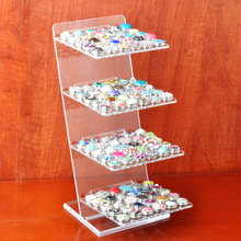Newest snap button bracelet display fit 18mm 20mm button for 120pcs(without button)