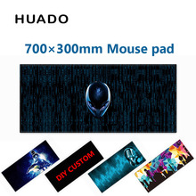 Rubber Gaming Mouse Pad keyboard mat mousepad 700*300mm desk mat for world of tanks/ cs go/ dota 2/ steelseries/lol(China)