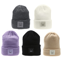Hat beanie Fashion Winter Women Men Knit Ski Beanie Ball Wool Cuff Hat Ski Cap DM#6