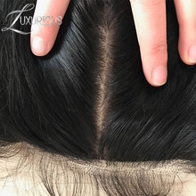Luxurious Silk Base Full Lace Wigs Straight Brazilian Remy Human Hair For Black Women Natural Color 8-24 Inch(China)