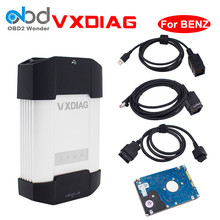 Professional VXDIAG VCX MULTI Diagnostic Tool For Mercedes Benz With Software/No Software Two Option Powerful MB Star C4 Scanner
