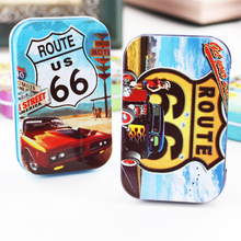 New Hot Motorcycle Picture Tin Box Cajas Plastics Cookies Container Macaron Mac Cosmetics Organizer 4Piece/Lot Small Metal Box