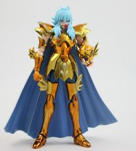 S-Temple metal club Pisces Aphrodite OCE glod Myth Cloth Ex action figure Saint Seiya model toy metal armor(China)