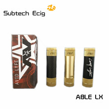 Buy New Sub Two ABLE XL brass carbon fiber Av able Mod 24mm Diameter atomizer vape E cigarette mechanical mod 510 thread for $16.80 in AliExpress store