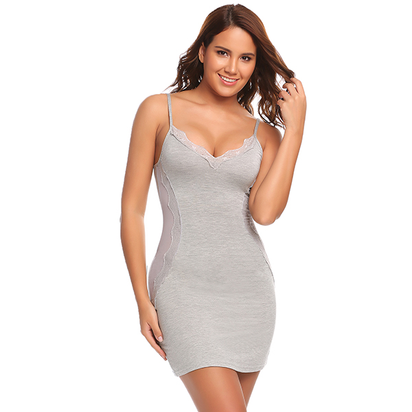 7d9fc53463 2019 Avidlove Cotton Nightgown Women Nightwear Night Dress Female ...