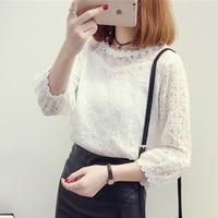 fashion-women-Sweet-Nine-Quarter-lantern-Sleeve-Lace-white-o-neck-blouses-female-girls-shirts-spring.jpg_200x200
