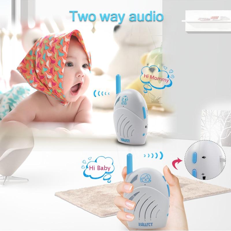 Baby Walkie Talkie 2.4Ghz Wireless Children Radio bebe baby monitor Two Way Audio Baby sitter Radio Nanny Baby Alarm Babyphone<br>