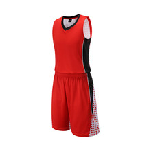 17/18 new design Double Wear basketball training suit empty style basketball jersey & shorts Sportswear tracksuit