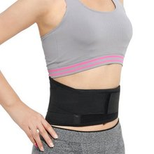 Lumbar Support Back Adjustable Tourmaline Self-heating Magnetic Therapy Waist Belt Waist Support Brace Double Banded aja lumbar