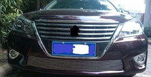 For Toyota Crown 2012 Aluminum alloy plating Front Grille grill Around Trim Racing Grills Trim 1pcs(China)