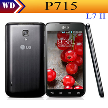 Original P715 LG Optimus L7 II Dual SIM 8MP Android Dual-core 3G network mobile phone refurbished