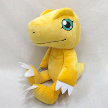 30cm Digital Monster Agumon plush pillow doll Anime Digimon Adventure plush figure toy for girl gift free shipping