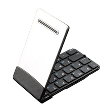 Wireless Bluetooth 3.0 Keyboard Portable Mini Foldable Keyboard Ultra Slim Aluminum for iOS Android Mac Windows devices