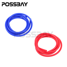 Universal Car Styling 2M 3mm/4mm/6mm/7mm Vacuum Hose Tubing Blue Red Color For Water Oil Vacuum Transport Pipe Line