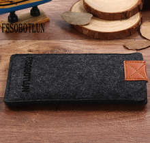 FSSOBOTLUN,3Colors,For Huawei Mate 10 Porsche Design Case Bag Protector Pouch Protective Phone Cover Handmade Wool Felt Sleeve(China)