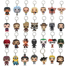 2017 New Fantastic Beasts and where to find them figure Toy Niffler Keychain Super Mand Rick and Morty Vinyl Mini Doll PVC Toys