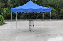 DANCHEL Gazeble 800D Oxfordwith Aluminum frame Folding Tent size 2x2 2x3 3x6 color blue and red