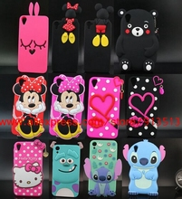 For HTC Desire 820 Case 3D Sulley Tiger Cheshire Cat Stitch Mickey Minnie Lip Hello Kitty Silicone Phone Cases Cover For HTC 820