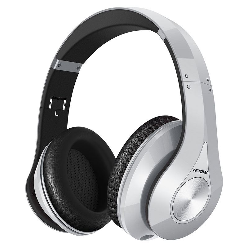 Mpow Bluetooth Stero Headphones Wireless CVC 6.0 Noise Canceling Headphone Headset With Mic For Smart Phone Pad PC Tablet TV<br>