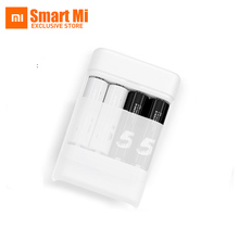 Xiaomi ZI5 AA/AAA Ni-MH Battery Charger USB Power Bank with 4 Slots Portable USB Multifunction Charger for Mobile Phone USB Fan