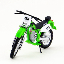Maisto 1:18 Motorcycle Toy, Diecast & Alloy Motorbike, Simulation Kawasaki KLX250SR Motor Cycle Models, Kids Toys, Brinquedos(China)