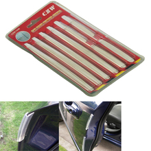 8pcs/set Universal Car Door Guard Edge Corner Bumper Buffer Trim Molding Protection Strip Scratch Protector Car Door Crash Bar