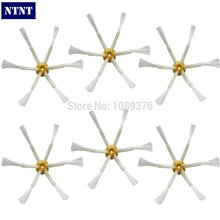 NTNT 6 PCS Side Brush 6-armed for iRobot Roomba 500 600 700 Series 550 560 630 650 760 Vacuum Cleaner Accessories Parts