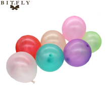 100pcs 10inch Latex Balloons Air Balls Inflatable Float Wedding Party Valentine's Day Birthday Christmas Decoration Kids Toys