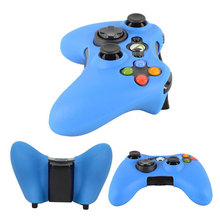 2016 Colorful High Quality Silicone Cover Case Protection Sleeve for Xbox 360 Game Controller Silicone Light Durable Wholesale