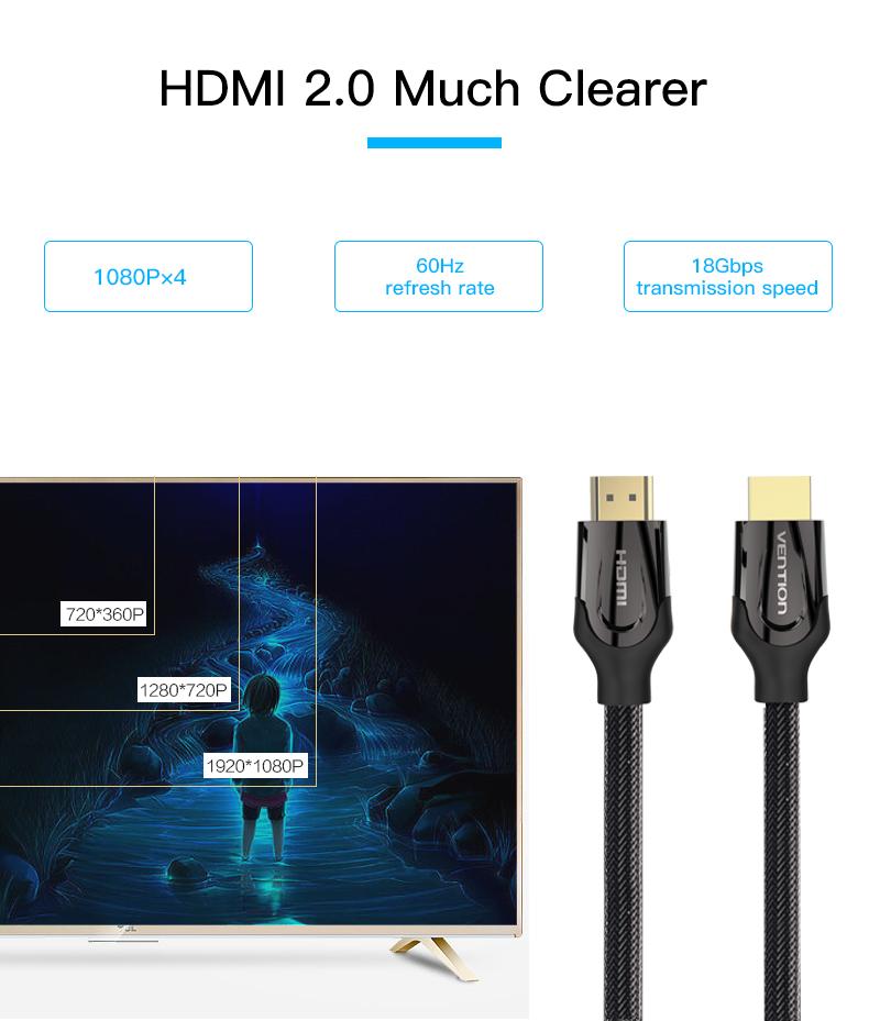 HD kaabel – 75 cm või 1 m
